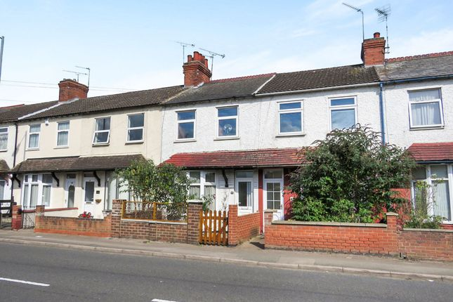 Thumbnail Terraced house for sale in Boughton Road, Rugby