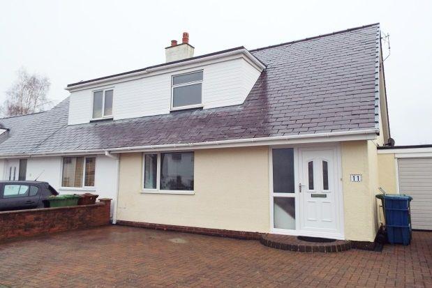 Thumbnail Property to rent in Bro Emrys, Talybont, Bangor