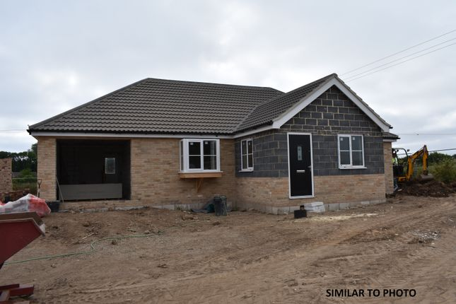 Thumbnail Detached bungalow for sale in Plot 2 Dovedale, Yarmouth Road, Hemsby