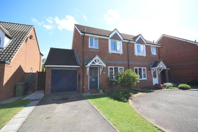 Thumbnail Semi-detached house for sale in Snowshill Drive, Bishops Cleeve, Cheltenham, Gloucestershire
