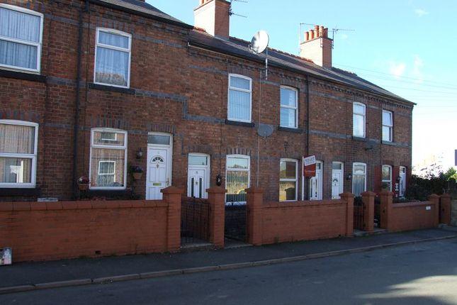 Terraced house to rent in Bury Street, Wrexham
