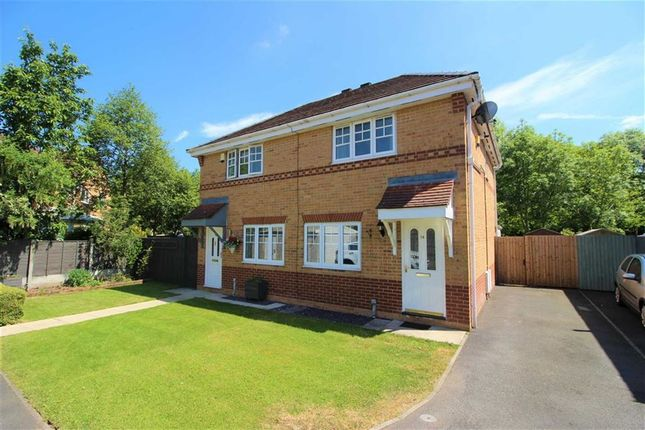 Thumbnail Semi-detached house to rent in Cloughfield, Penwortham, Preston