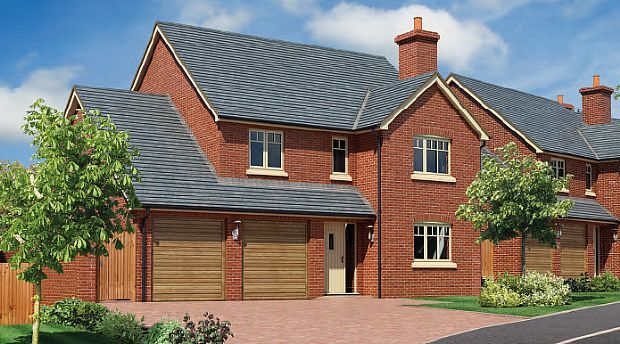 Thumbnail Detached house for sale in The Beeches, Chester Road, Whitchurch, Shropshire