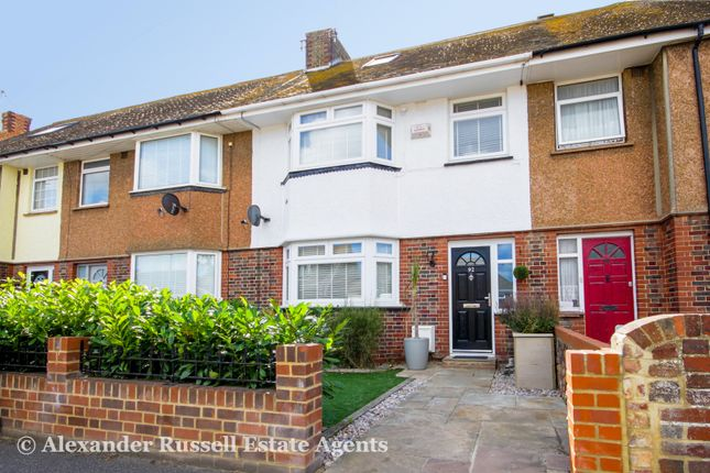 Thumbnail Terraced house for sale in Gordon Road, Westwood, Margate