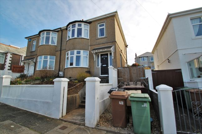 Thumbnail Semi-detached house for sale in Berrow Park Road, Peverell, Plymouth