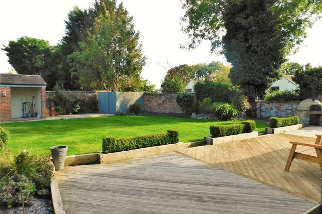 Rear Garden of Bridge Close, Weston, Stafford ST18