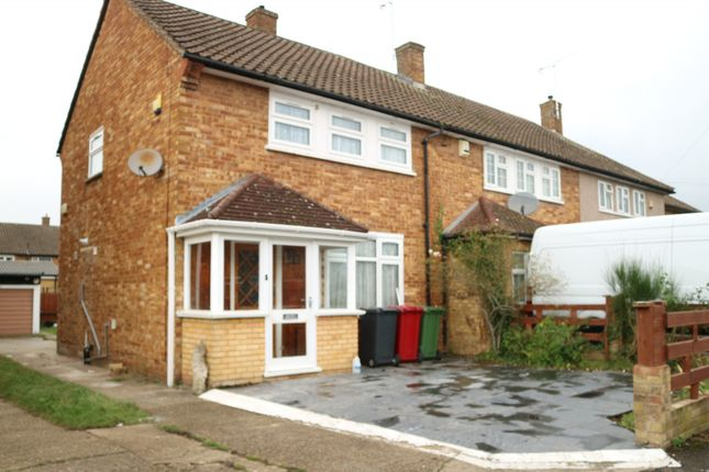 Thumbnail Semi-detached house to rent in Verney Road, Langley