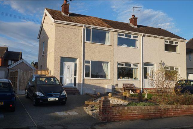 Thumbnail Semi-detached house for sale in Llanrhos Road, Llandudno