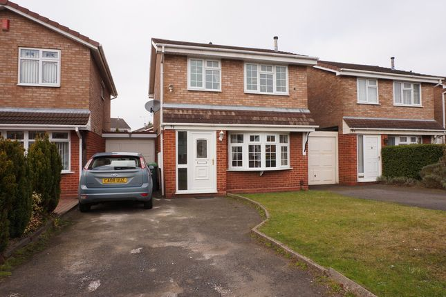 Thumbnail Link-detached house for sale in Macdonald Close, Tividale, West Midlands