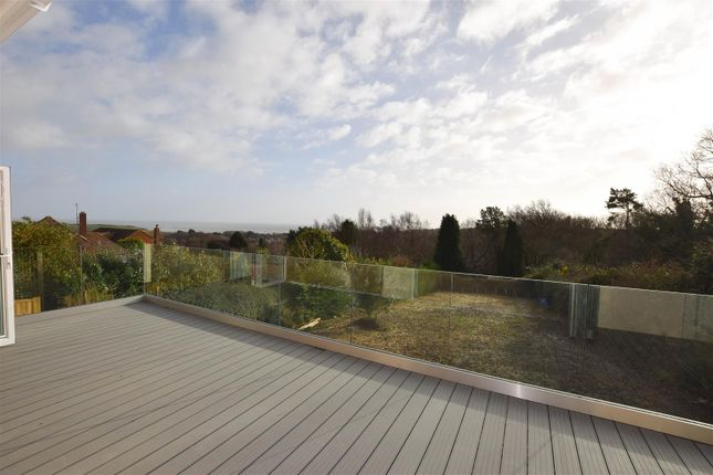 Decked Area of Battery Hill, Fairlight, Hastings TN35