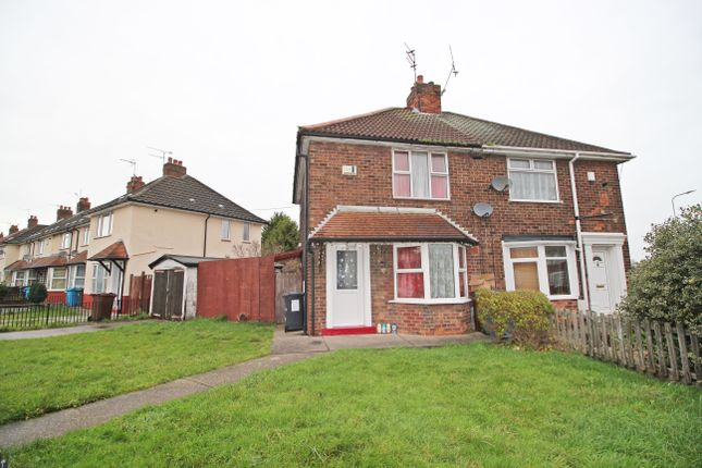 Thumbnail Semi-detached house for sale in Wingfield Road, Hull