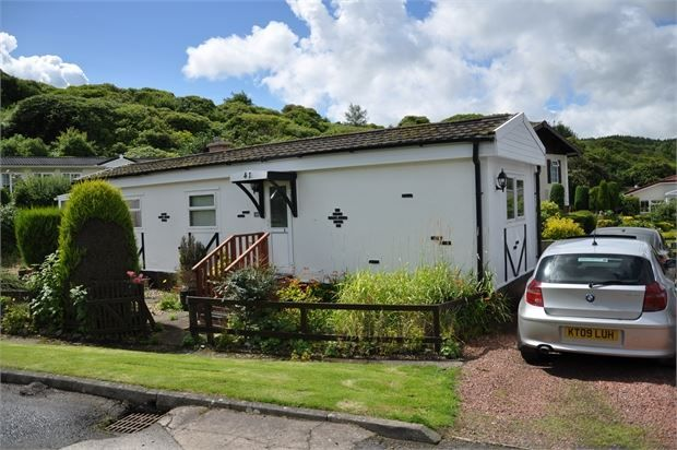 Thumbnail Mobile/park home for sale in Blenkinsopp Castle Home Park, Greenhead, Cumbria.