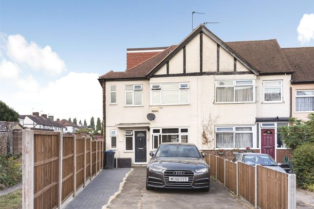 Thumbnail End terrace house for sale in Garth Close, Morden, Surrey
