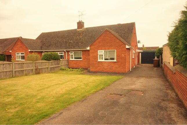 Thumbnail Semi-detached bungalow for sale in Hawthornden Gardens, Uttoxeter