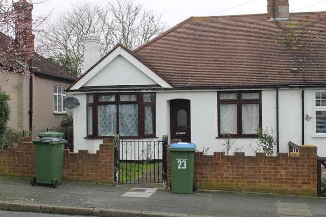 Thumbnail Semi-detached bungalow to rent in Irwin Avenue, London