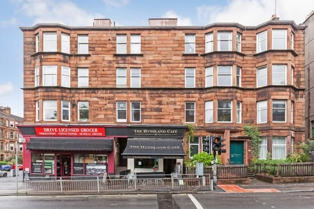 Front of Clarence Drive, Hyndland, Glasgow G12