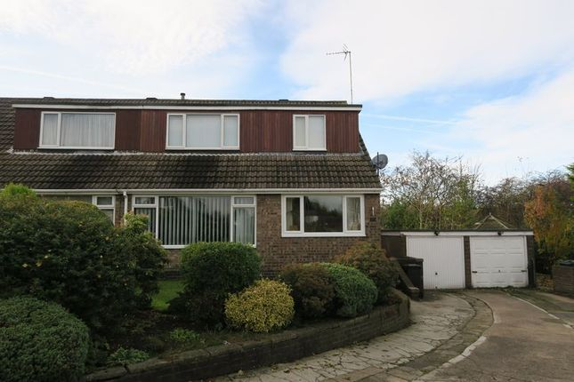 Thumbnail Semi-detached bungalow for sale in Foster Crescent, Morley, Leeds