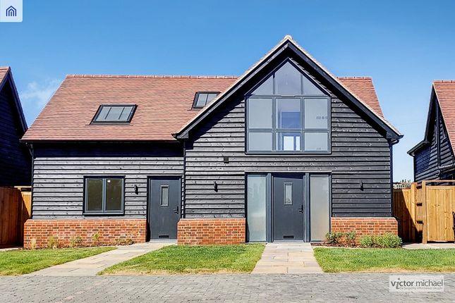 Thumbnail Semi-detached house for sale in Sewardstone Road, London, Greater London.