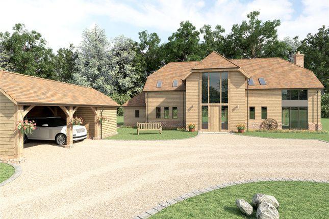 Thumbnail Detached house for sale in Highbridge Road, Brambridge, Hampshire
