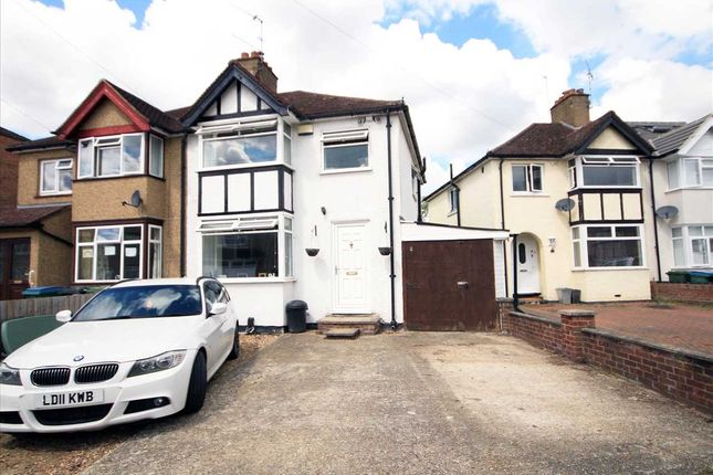 Thumbnail Semi-detached house for sale in Second Avenue, Watford WD25.