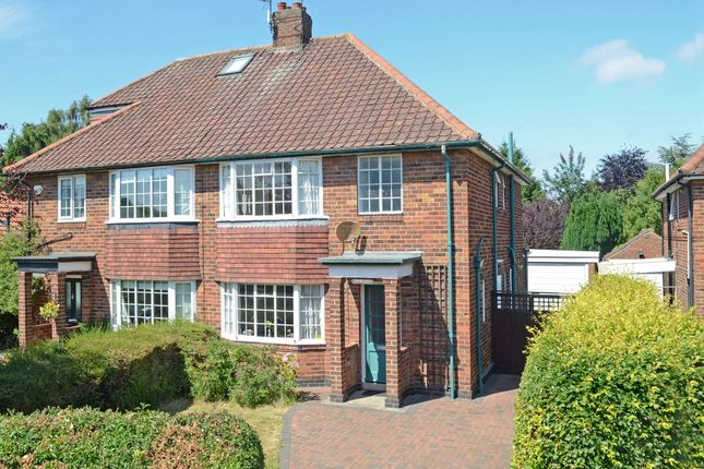 Thumbnail Semi-detached house for sale in Middlethorpe Grove, Dringhouses, York