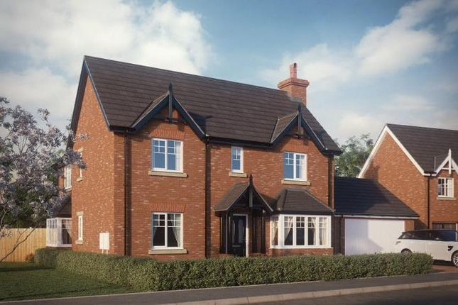 Thumbnail Detached house for sale in Abbots Lea. Shrewsbury Road, Hadnall, Shrewsbury