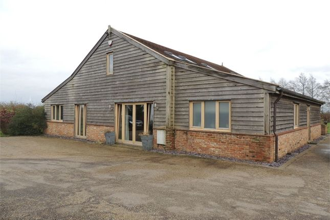 Thumbnail Barn conversion for sale in Chalk Road, Upwell, Wisbech