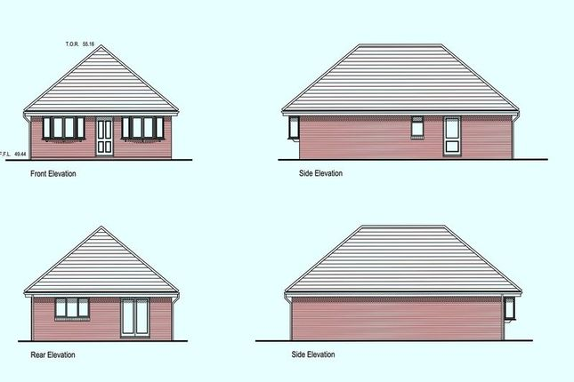 Thumbnail Detached bungalow for sale in Fairview Drive, Hythe, Southampton