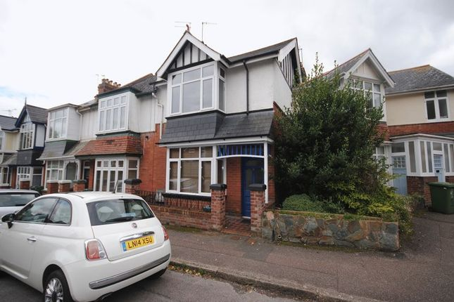 Thumbnail Terraced house for sale in Edgerton Park Road, Exeter