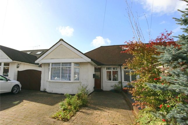 Thumbnail Semi-detached bungalow to rent in Oakwood Drive, St. Albans, Hertfordshire