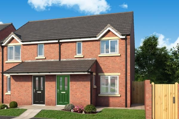 "Thumbnail Property for sale in ""The Banbury At Derwent Heights"" at Off Ravensworth Road, Dunston"