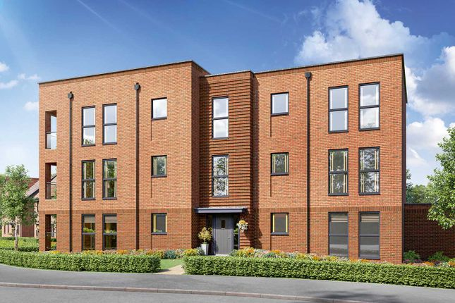 """Thumbnail Flat for sale in """"Swanwick House 2 Bedroom Apartment"""" at Off Botley Road, Whiteley"""