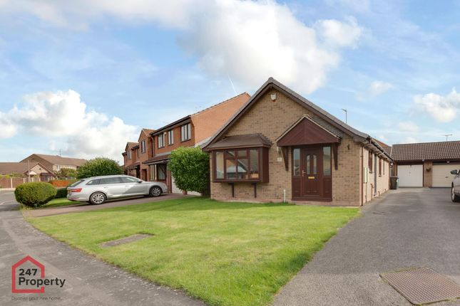 Thumbnail Bungalow to rent in Crusader Drive, Sprotbrough, Doncaster