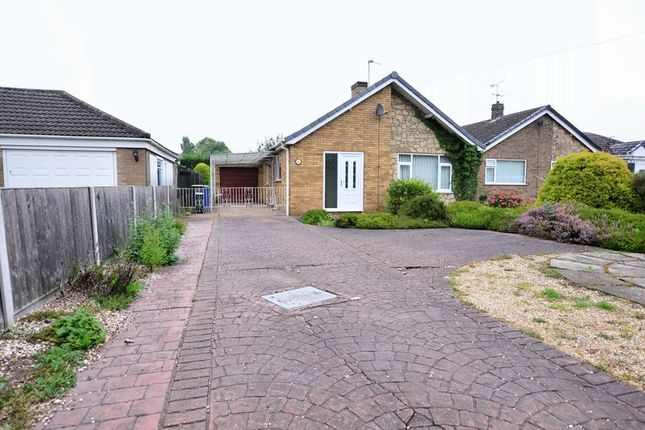 Thumbnail Detached bungalow for sale in Sykes Lane, Saxilby, Lincoln