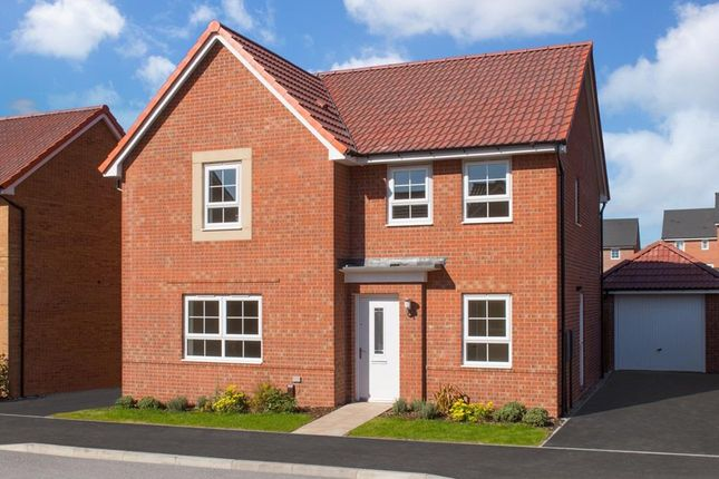 "Thumbnail Detached house for sale in ""Radleigh"" at Newton Lane, Wigston"