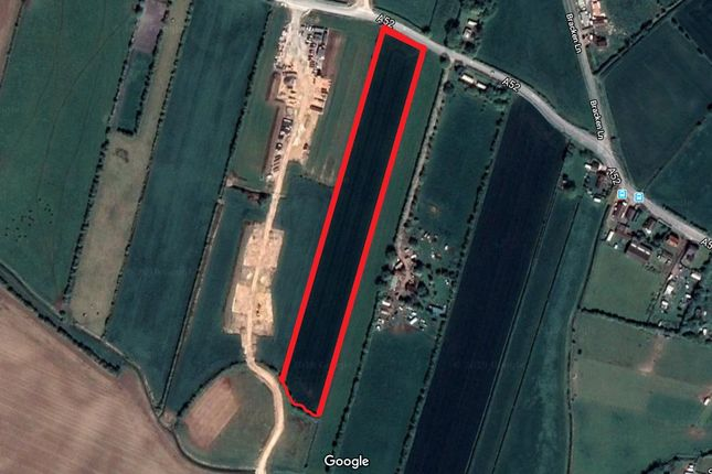 Aeriel View of Field, Mumby Road, Hogsthorpe, Lincolnshire PE24