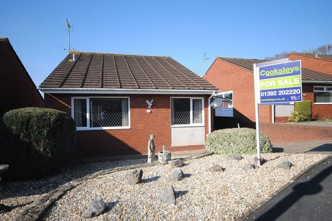 Thumbnail Bungalow for sale in Bourn Rise, Pinhoe, Exeter
