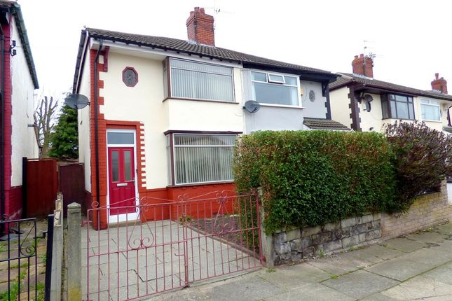 Thumbnail Semi-detached house for sale in Gordon Drive, Broadgreen, Liverpool