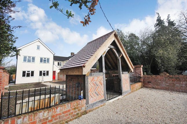 Thumbnail Detached house to rent in Haymeads Lane, Bishops Stortford, Herts