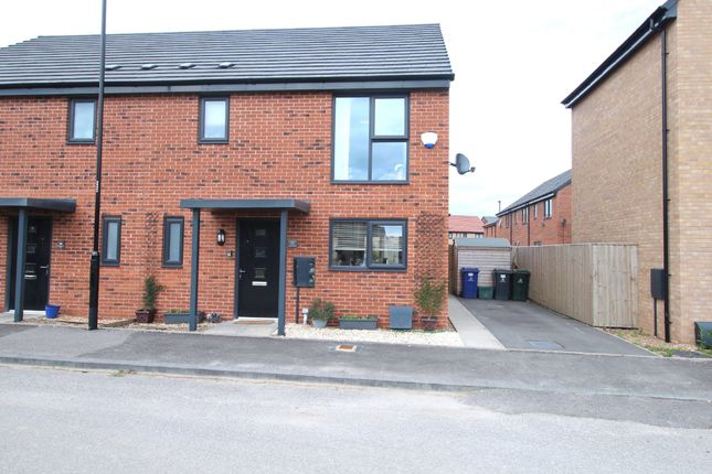 Thumbnail Semi-detached house for sale in Park Hall Drive, Askern, Doncaster, South Yorkshire