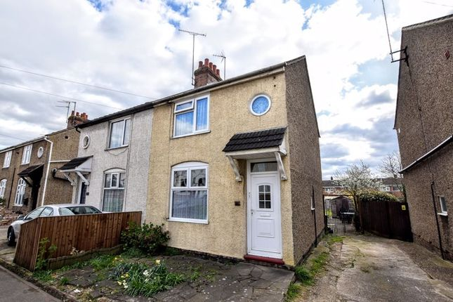 Thumbnail Semi-detached house for sale in Water Eaton Road, Bletchley, Milton Keynes