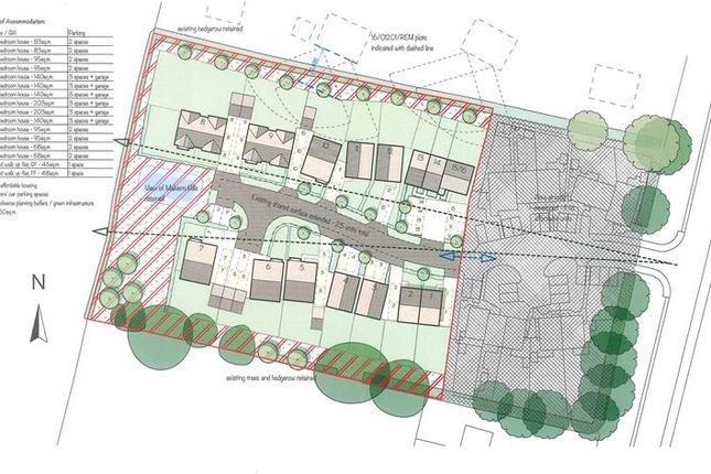 Thumbnail Land to let in Residential Development Site, Chapmans Orchard, Hanley Swan, Worcester, Worcester