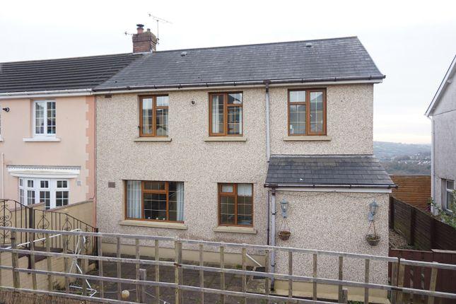 Thumbnail Semi-detached house for sale in Bronawelon Terrace, Crumlin, Newport