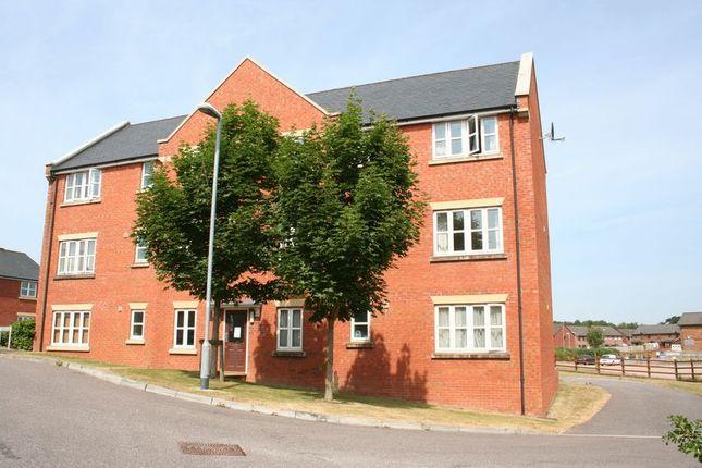 Thumbnail Flat to rent in Mercers Close, Tiverton