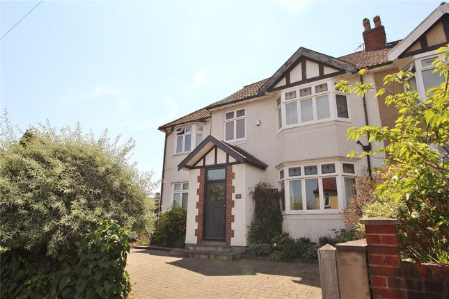 Thumbnail Semi-detached house to rent in Cranbrook Road, Redland, Bristol