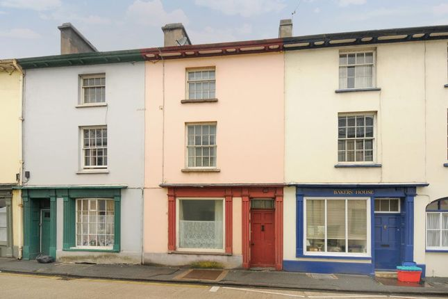Thumbnail Terraced house to rent in The Struet, Brecon
