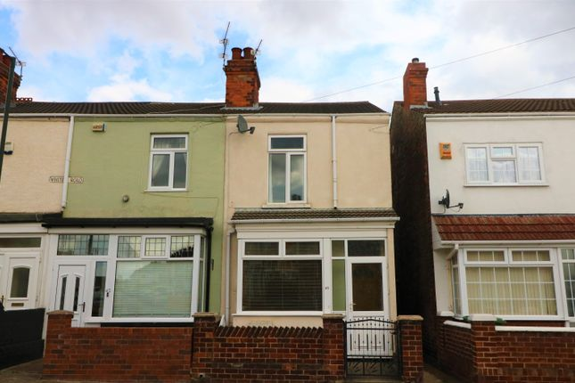 Thumbnail End terrace house to rent in Whites Road, Cleethorpes