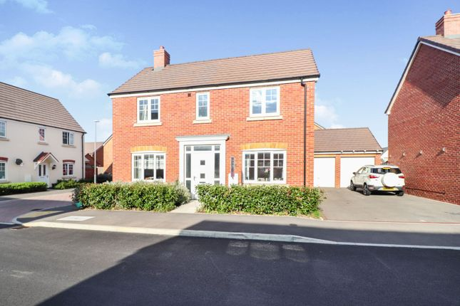 Thumbnail Detached house for sale in Hawfinch Road, Gloucester