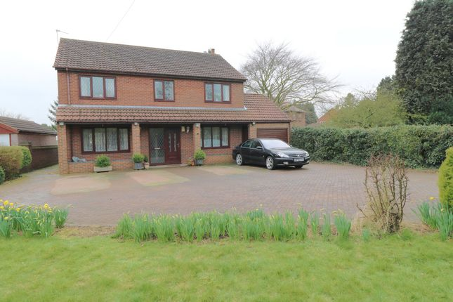 Thumbnail Detached house for sale in Margrave Lane, Garthorpe, Scunthorpe