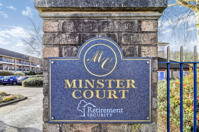 Gated Entrance of Minster Court, Bracebridge Heath, Lincoln LN4